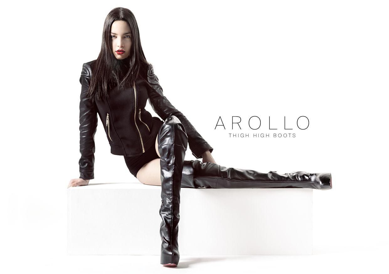 Arollo Leather Heeled Boots 9c27ac930d62ab786af5b6c42c472939