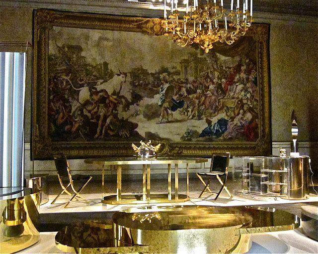Loving Gabriella Crespi's furniture.