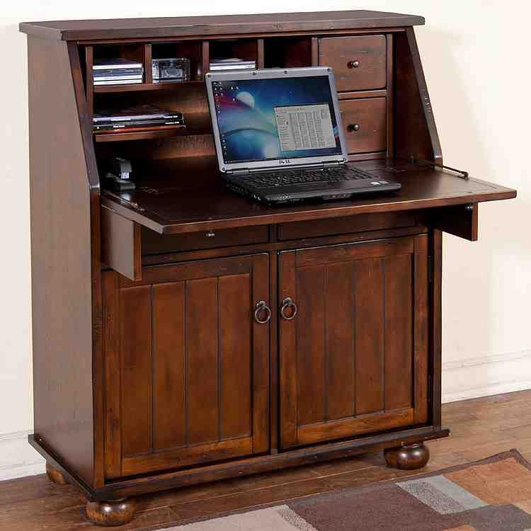 Armoire with Desk | Armoire desk, Secretary desks ...