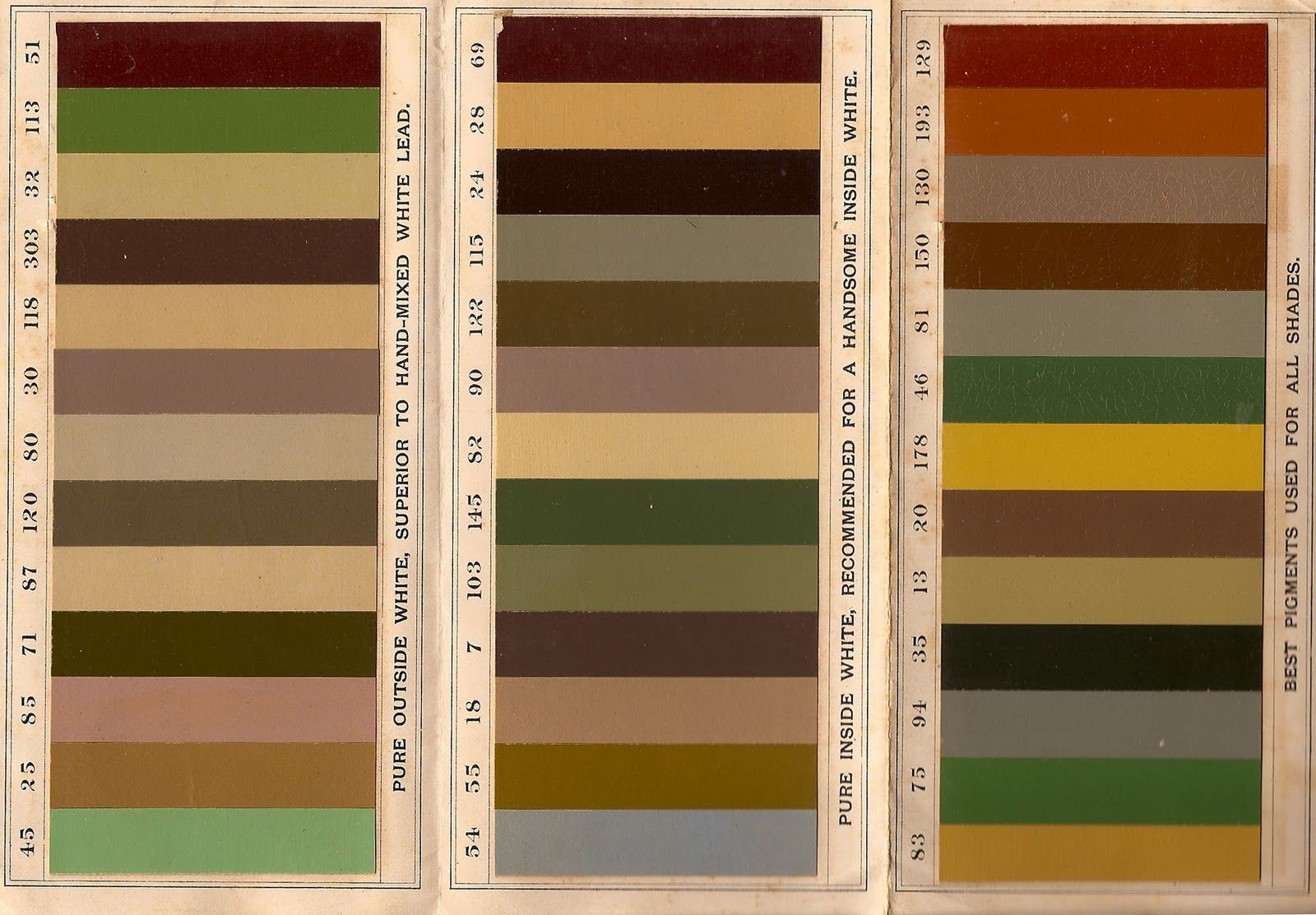 Exterior House Colors The Old Blog Historic Paint For Victorian Home Part  Also Rh Pinterest