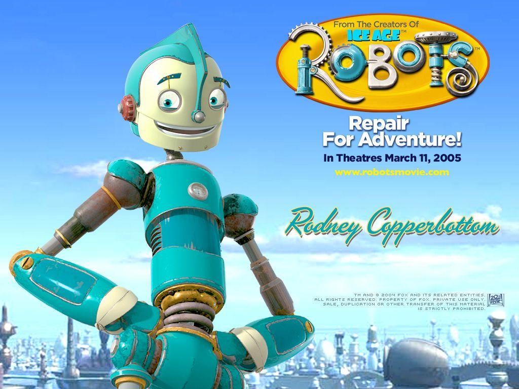 Robots Wallpaper 1024 X 768 Pixels New Animation Movies Robot Cartoon Movie Adventure Movies