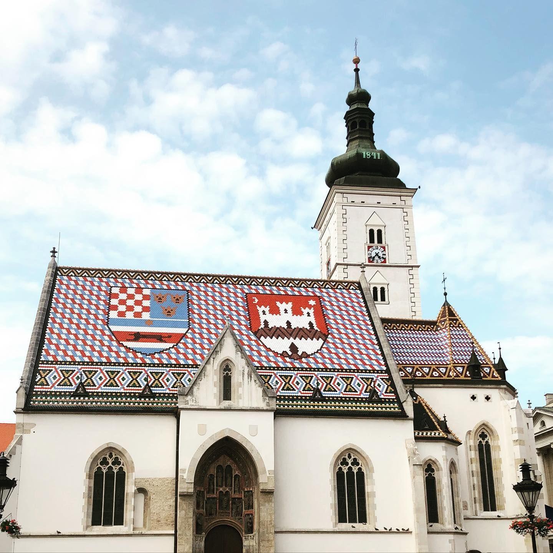 Zagreb Zagreb Croatia Stmarkscathedral Crkvasvetogmarka Church History Love Faith In 2020 Croatia Holiday Zagreb Croatia
