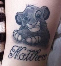 Kleine Simba Tattoos Popsugar Schonheit Tatoo 8