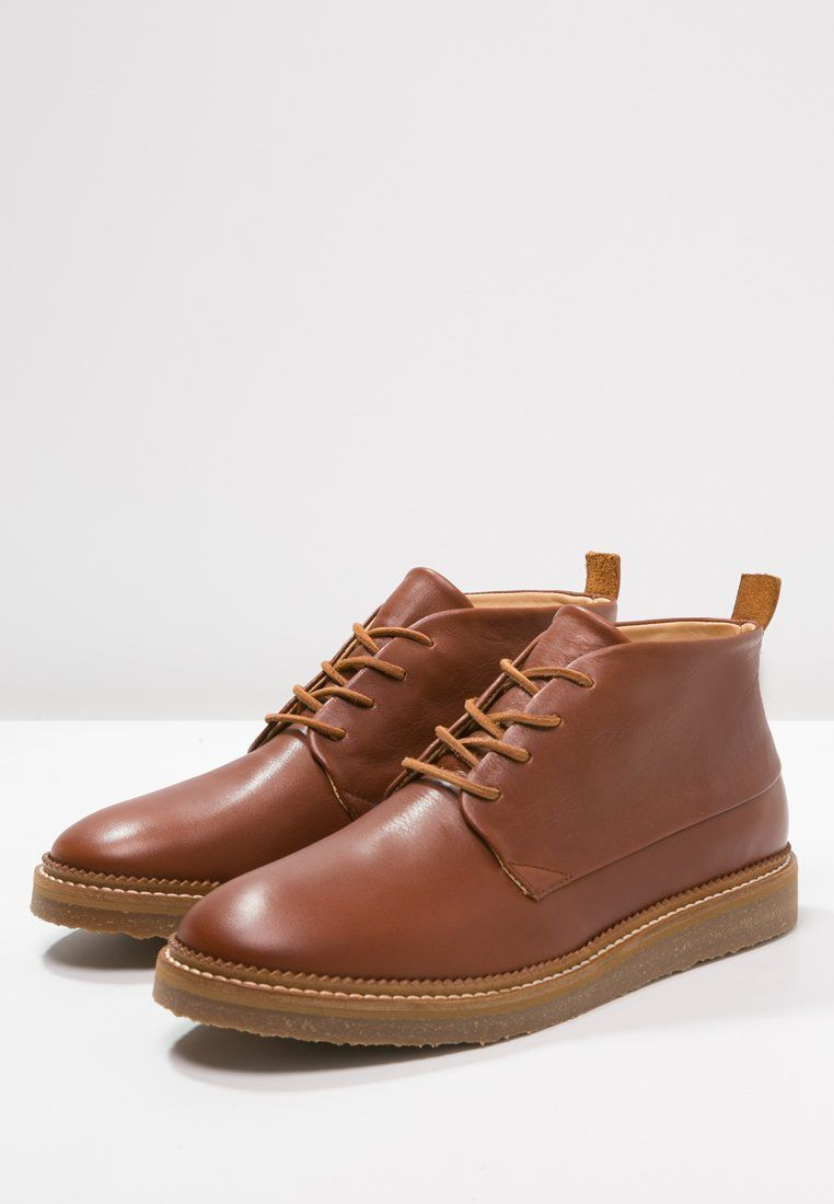 Cobbled by Northern Cobbler OARFISH - Chaussures à lacets - dark tan - ZALANDO.FR