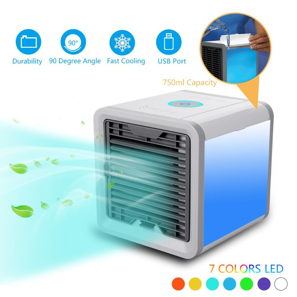 2018 New Air Cooler Arctic Personal Space Cooler Quick Easy Way To Cool Outdoor Desktop Air Conditioner Home Portable Co Air Cooler Mini Cooler Portable Cooler
