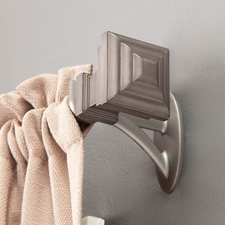 Kenney Fast Fit Milton Easy Install Curtain Rod Curtain Rods