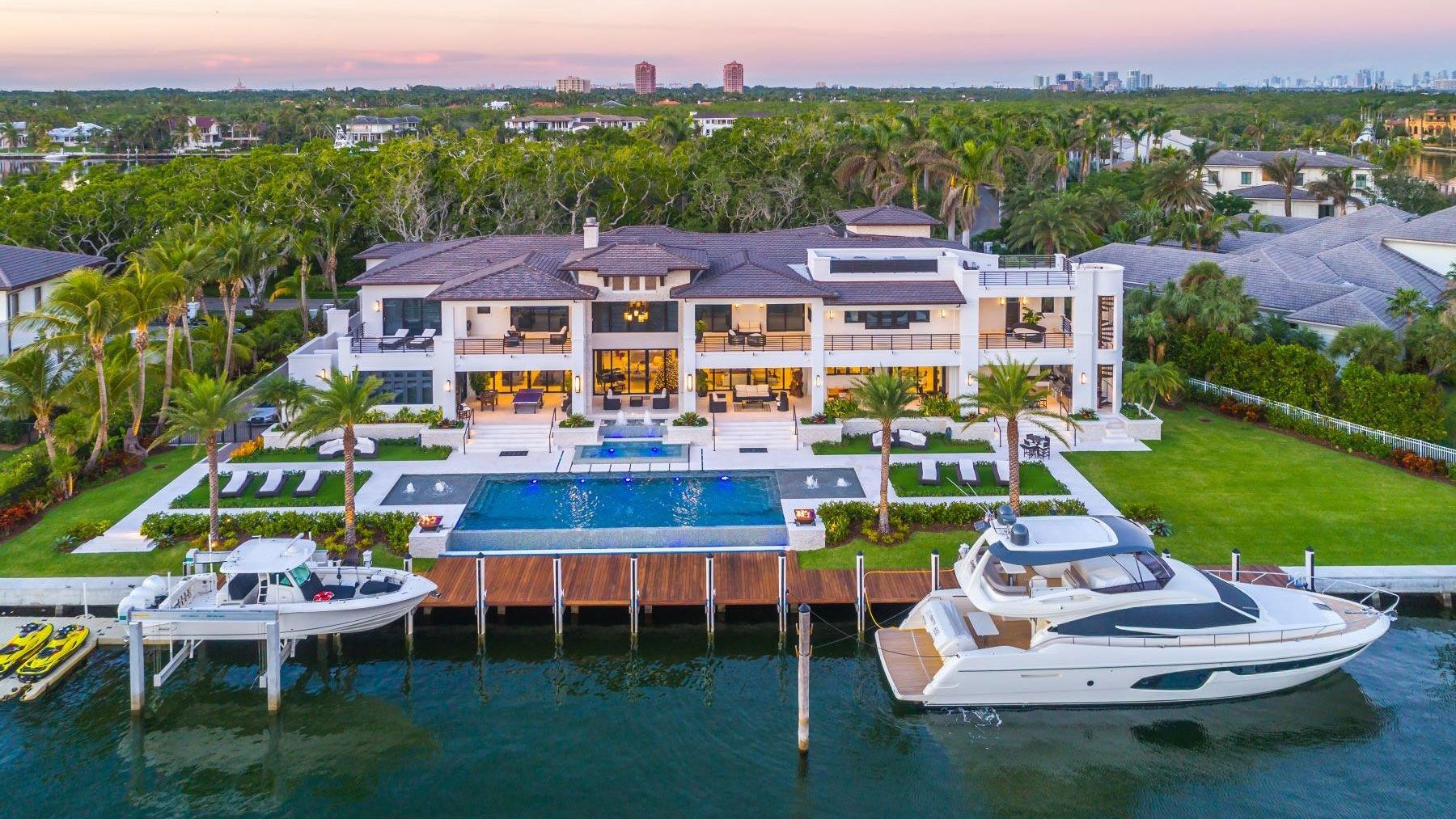 30m waterfront estate in coral gables is this weeks most