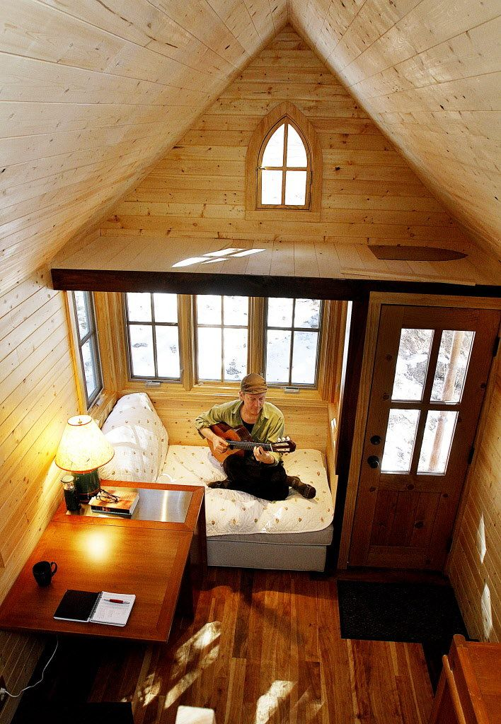 From the home front Tiny houses growing popularity Jay Shafer