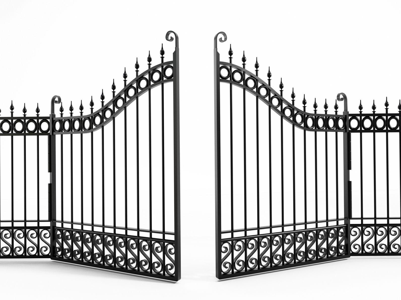 Pin By Ingrid Luker On Gates Iron Gate Gate Wrought Iron Gates