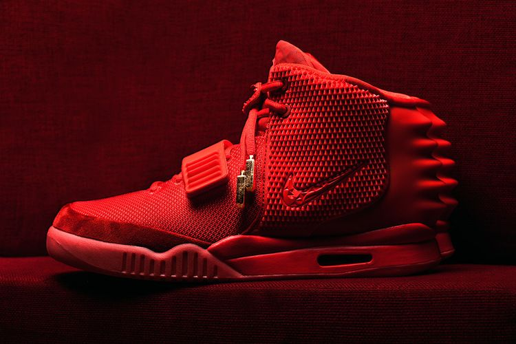 big sale 9a47f 5a471 Air Yeezy 2 SP  Red October  - Nike - 508214 660 - red red   GOAT