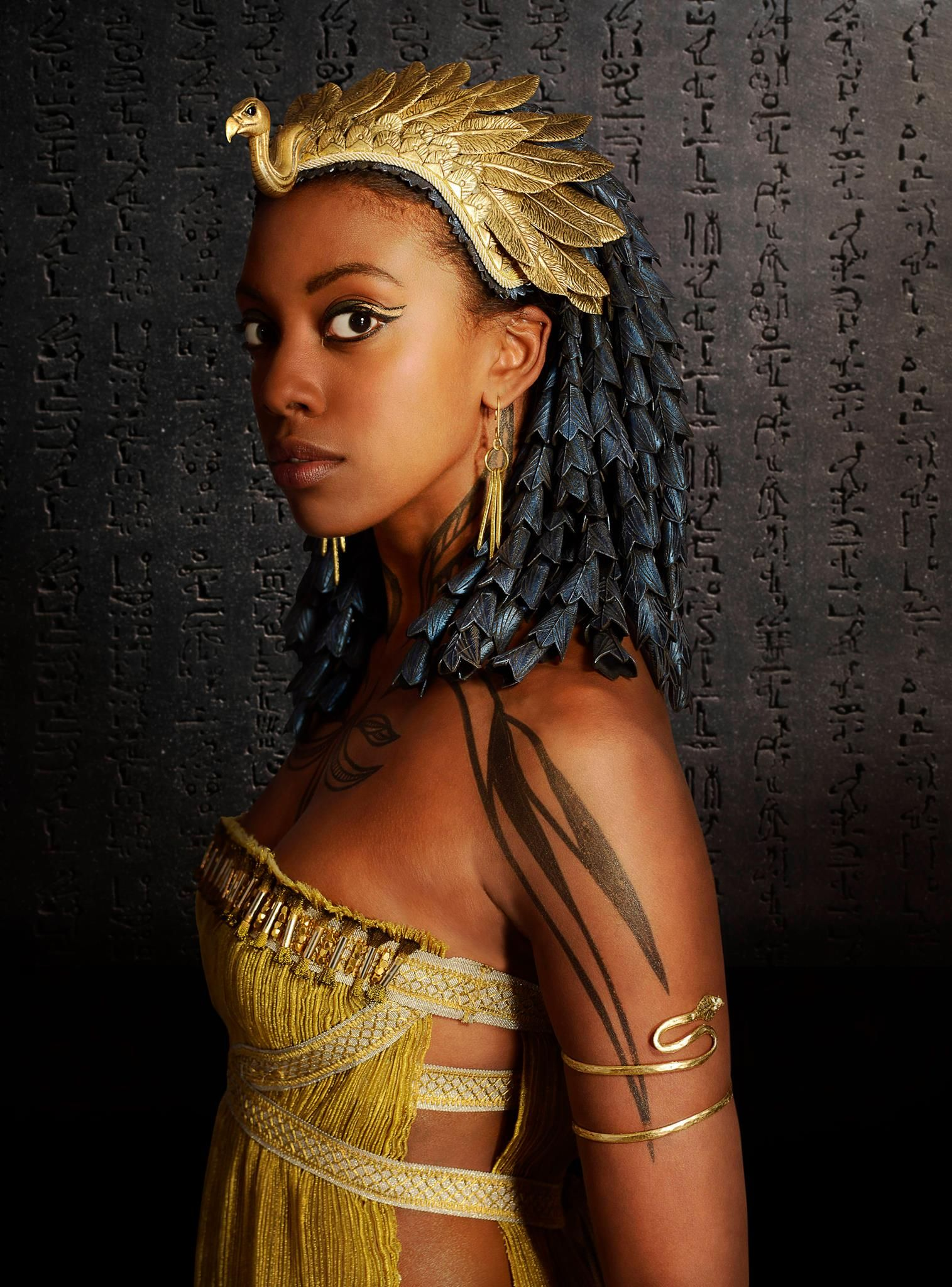 Condola Rashad As Nefertari Kanahkt Places Egypt