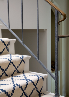 various stair painting and carpeting ideas fun pattern