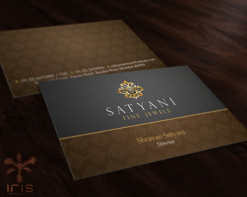 Business card design for a jewelry brand corporate stationery business card design for a jewelry brand reheart Choice Image