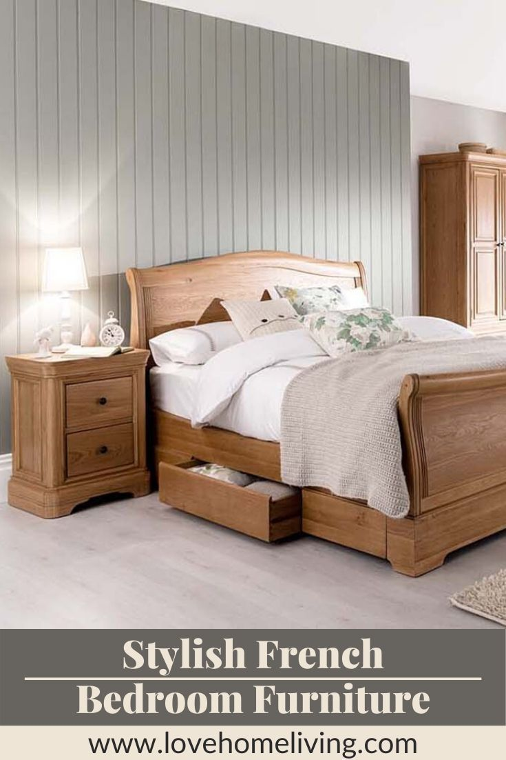 - Kara Oak Sleigh Bed With Storage – Double King Superking In 2020