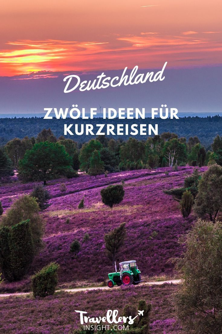 Kurzurlaub in Deutschland: Die 12 schönsten Orte