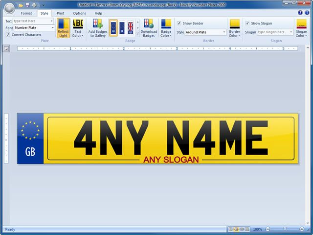 Check Out Http Www Originalregistrations Co Uk For Personalised