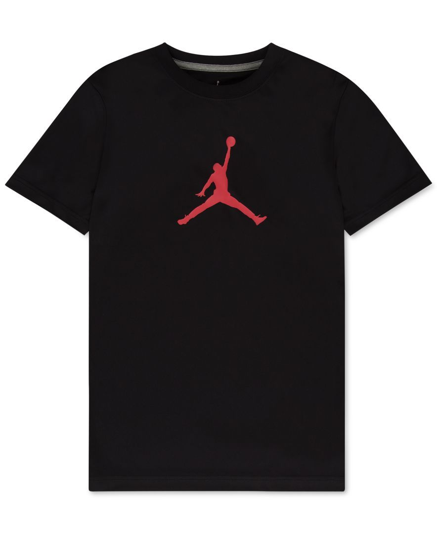 Jordan Dri-fit Branded T-Shirt, Big Boys (8-20)
