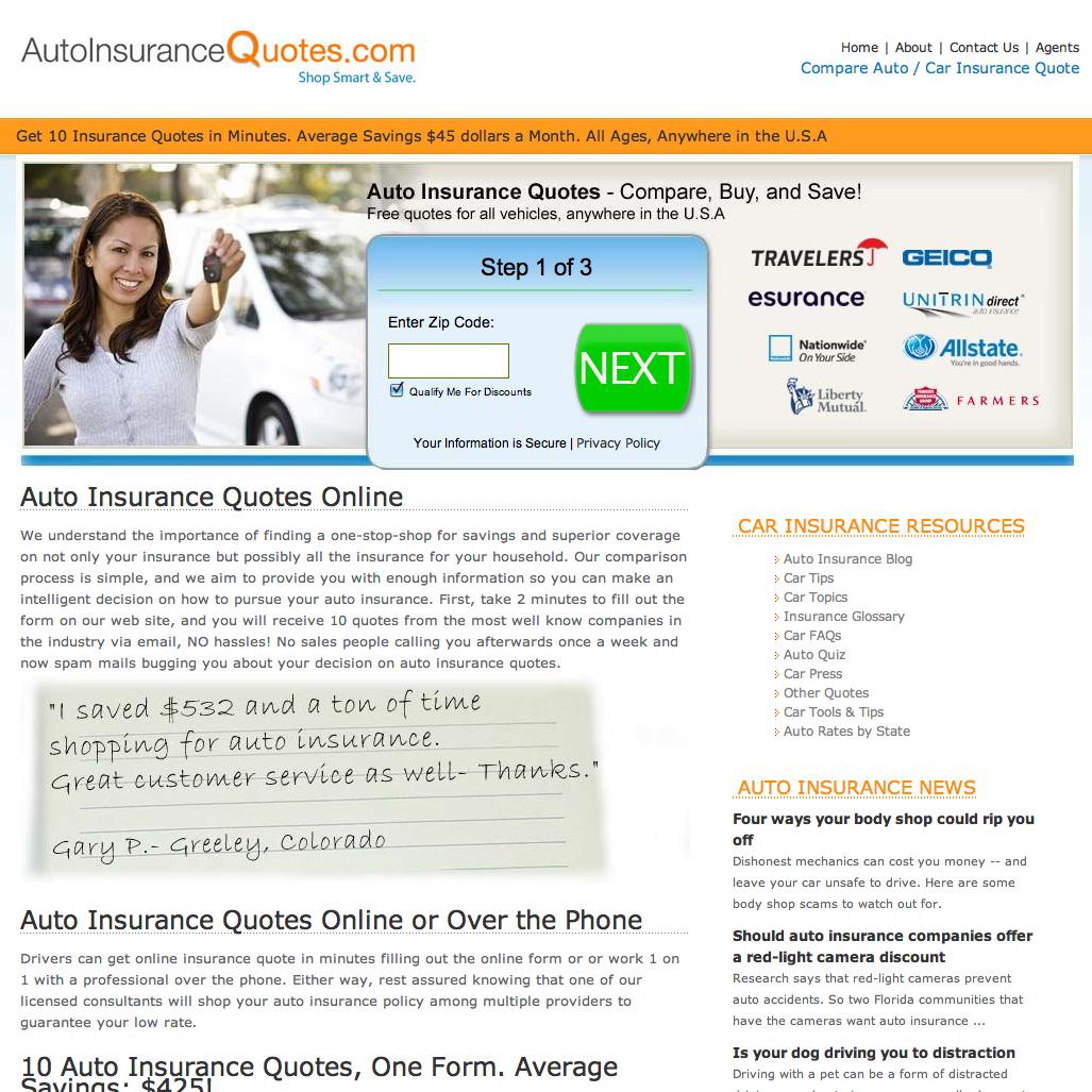Car Insurance Quote Comparison: Auto Insurance Quotes Online Comparison, We Will Give You
