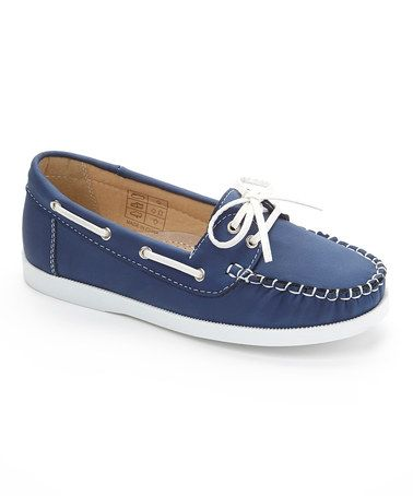 Another great find on #zulily! Navy Boat Shoe #zulilyfinds