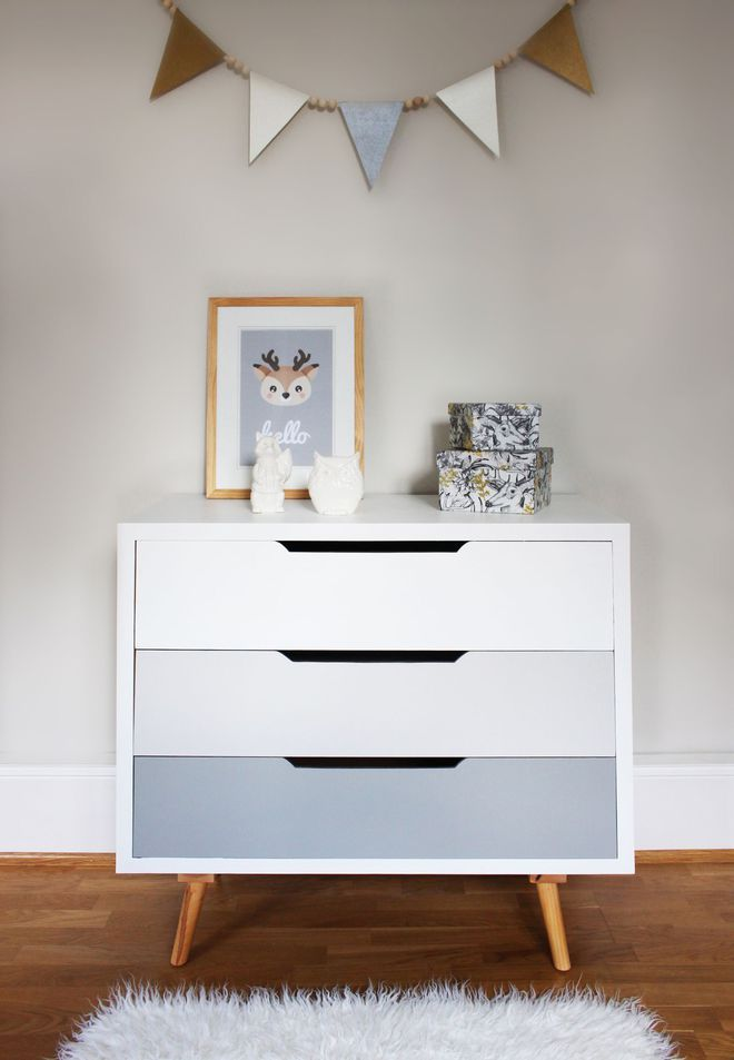 Peinture chambre en couleurs - peinture pour relooker meuble en bois