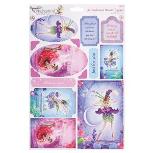 AMETHIST A4 ENCHANTED PEARLESCENT FAIRY TOPPERS