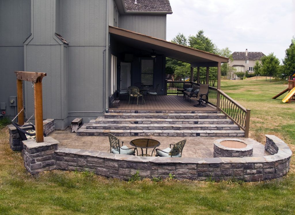 Image Result For Deck Patio Combo Ideas Patio Stones Patio Pictures Patio