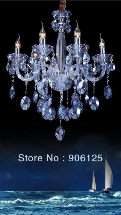 Unique Ocean Blue Crystal Chandeliers Crystal Chandelier Chandelier Ceiling Lights