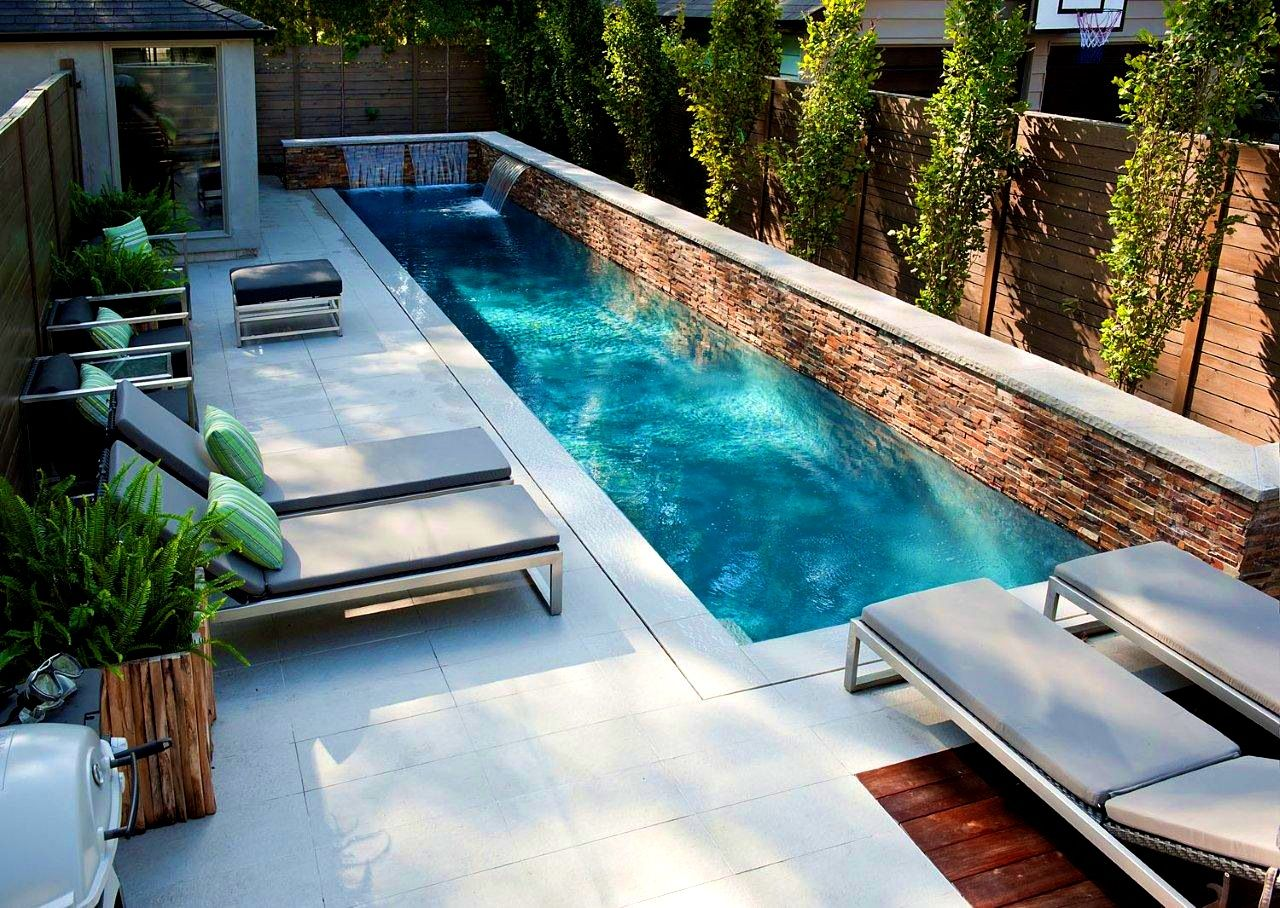 furniturecharming small pool ideas turn your backyard into relaxing best filter above ground pools - Above Ground Fiberglass Lap Pools