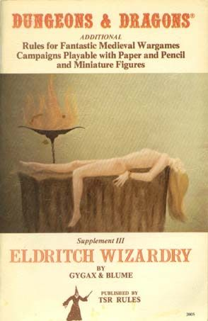 Dungeons & Dragons - Eldritch Wizardry
