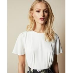 Kurzärmliges Kleid Mit Hemdeinsatz Und Opal-print Ted Baker  fruhling hochzeitsmotto
