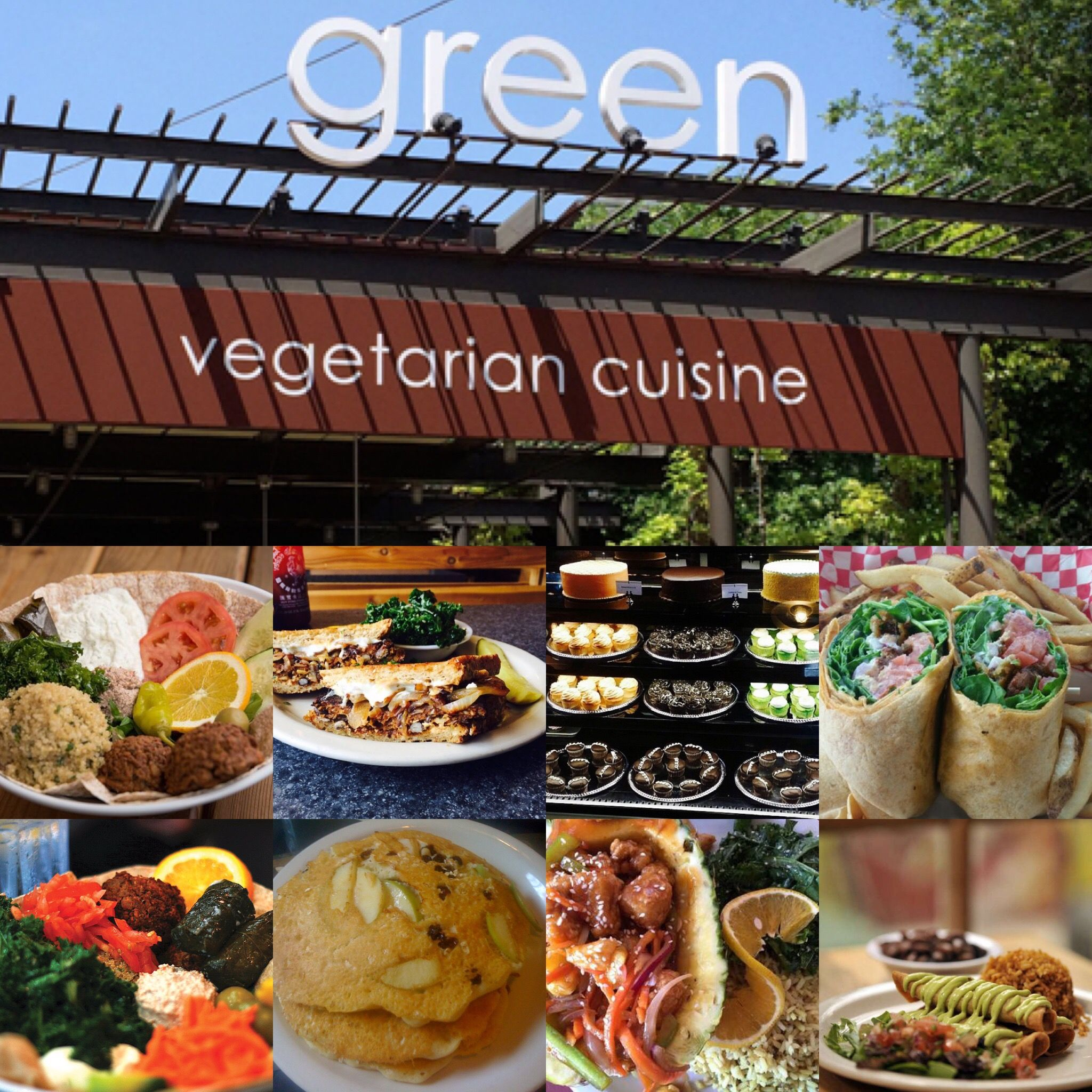 Green Vegetarian Cuisine Best Vegetarian Food In Town Located At 200 E Grayson St 120 San Anton Green Vegetarian Cuisine Vegetarian Cuisine Green Vegetarian