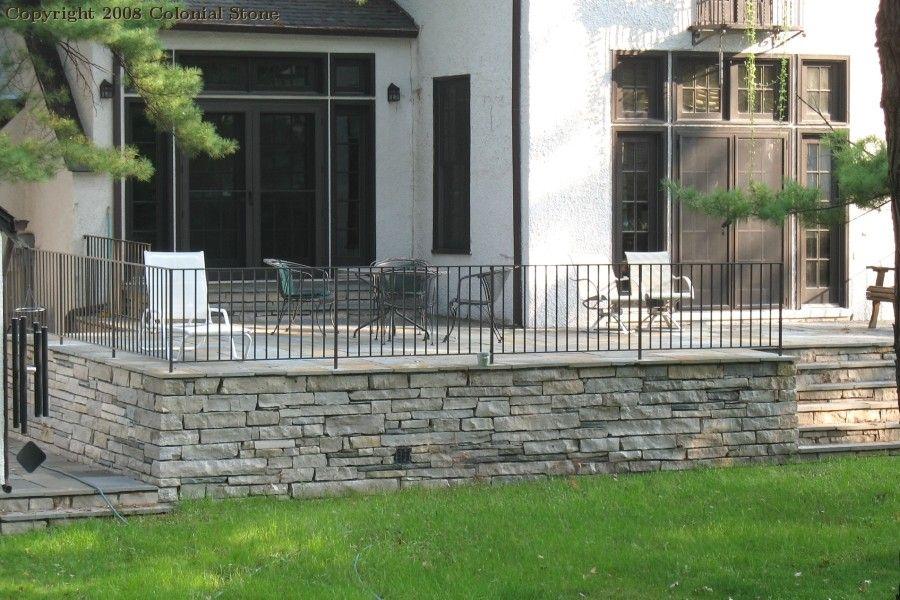 Best Raised Patio With Railing Concrete Patio Patio 400 x 300