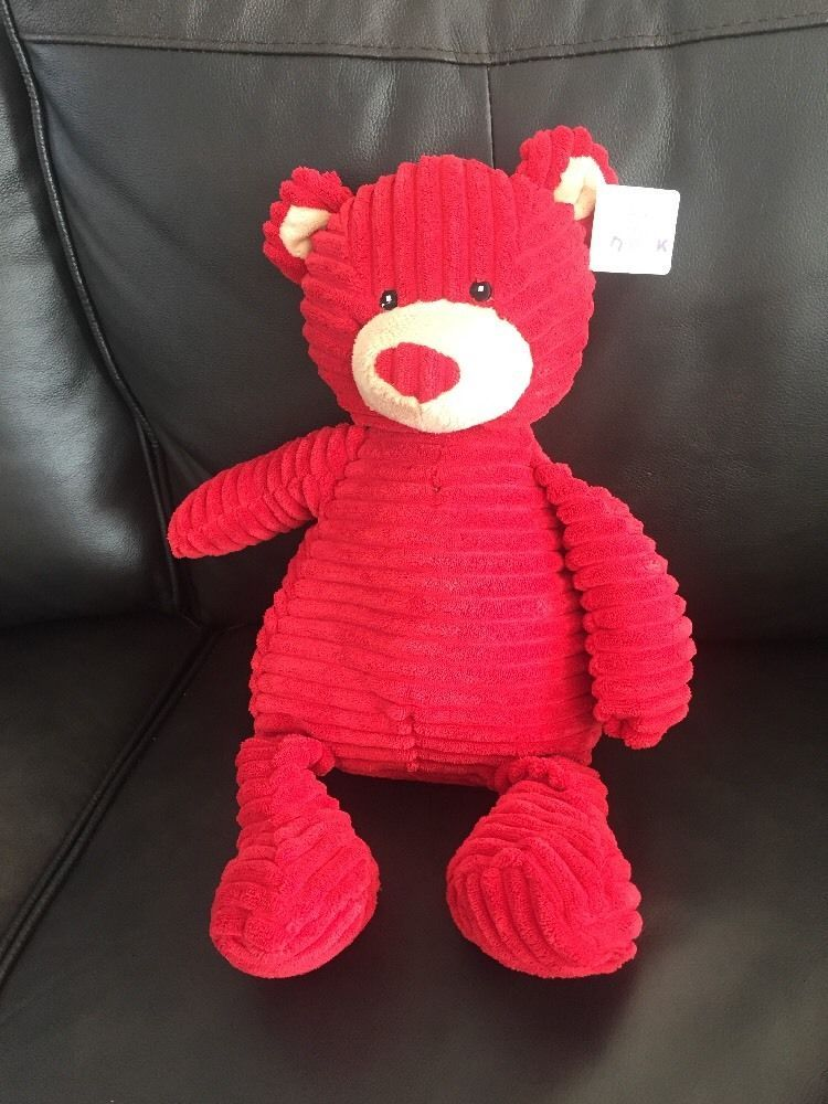 Teddy Bear Stuffed Toy, Red Corduroy Hugs And Kisses Bear By Unipak Stuffed Animals Teddy Bear B7 Nwt Ebay Teddy Bear Stuffed Animal Dinosaur Stuffed Animal Bear
