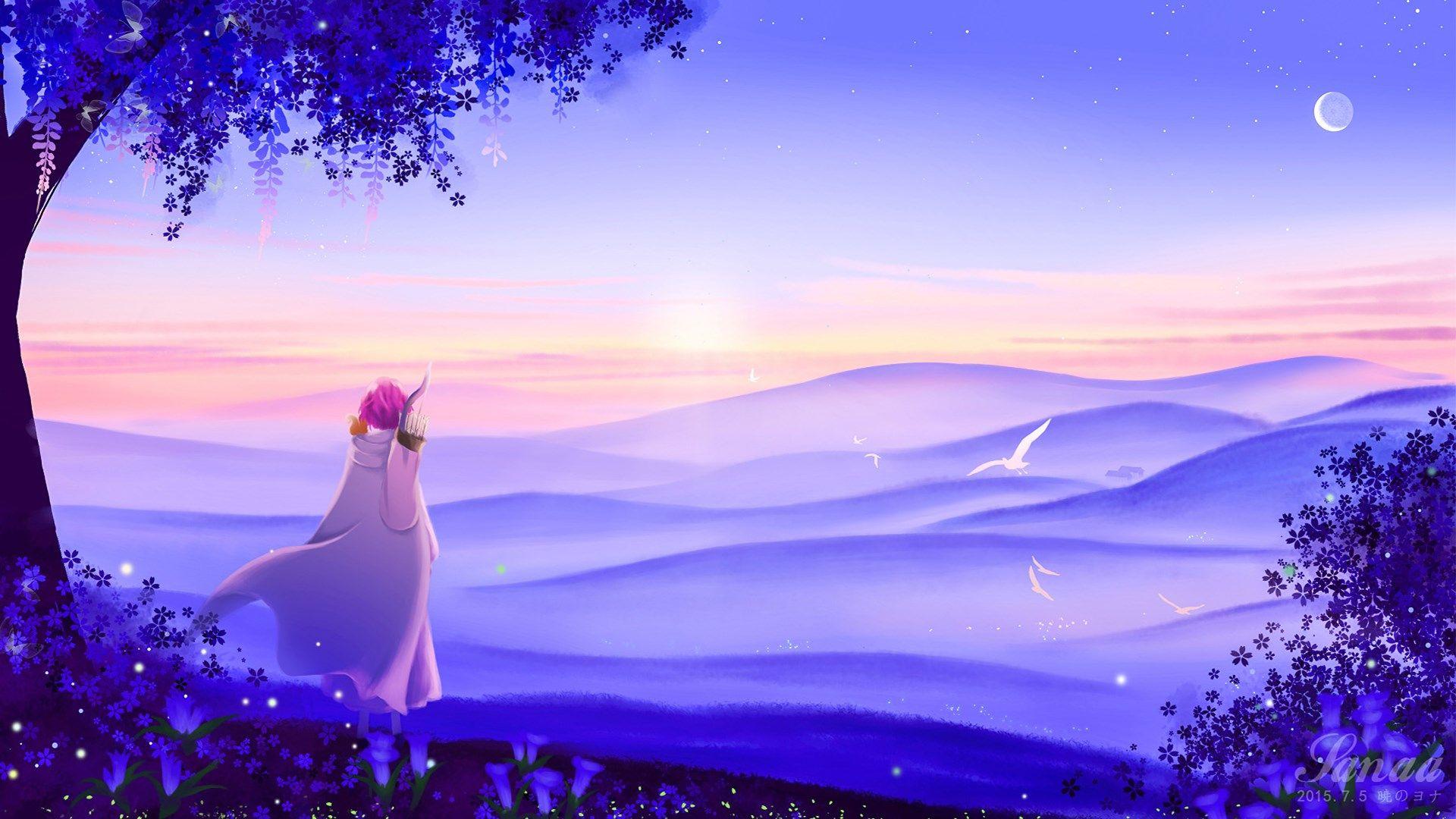Yona Of The Dawn Pic Full Hd Backgrounds 1920x1080 313 Kb Akatsuki No Yona Anime Background Akatsuki