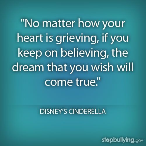 Stop Bullying Visit Http Www Stopbullying Gov Favorite Movie Quotes Bullying Quotes Disney Quotes