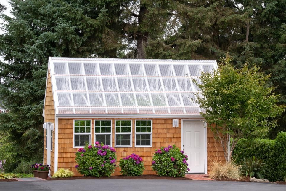 20 Great Garden Sheds And Potting Benches You Ll Want In Your Backyard Backyard Benches Garden Shed Patio Design Backyard