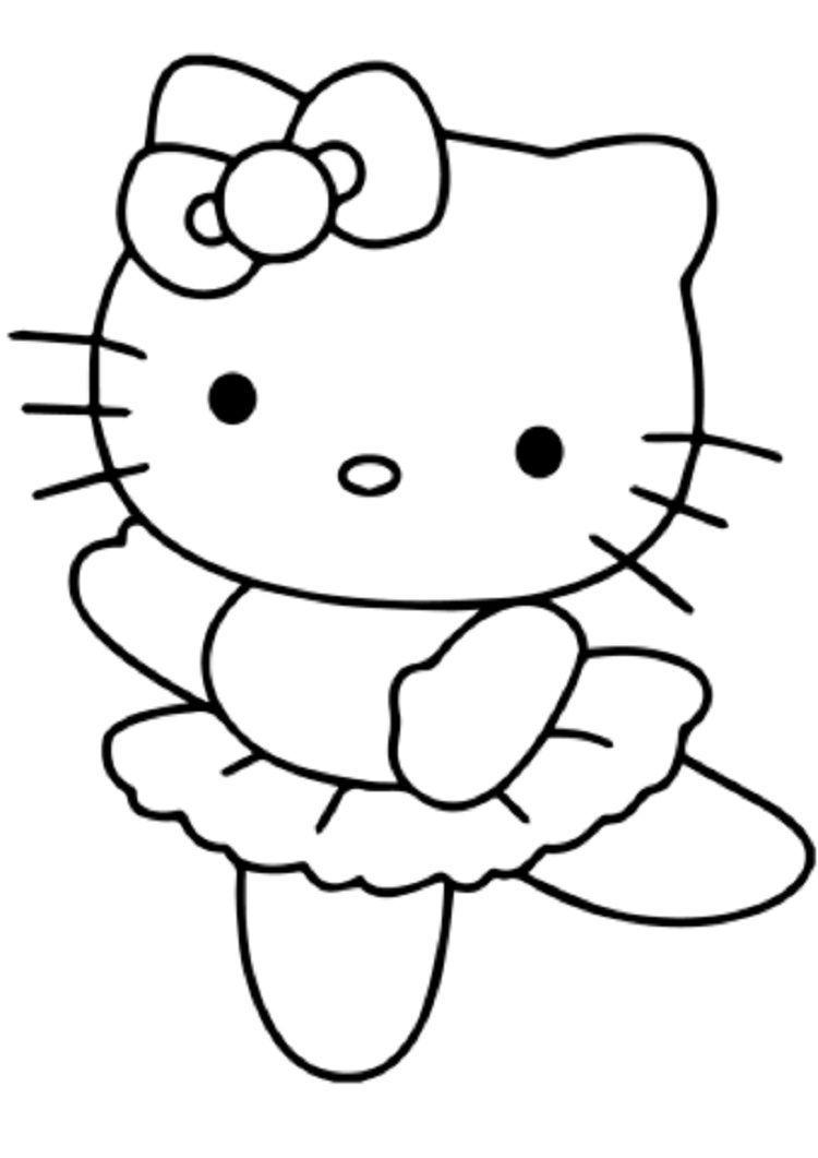 Hello Kitty Ballet Coloring Pages Malvorlagen Hello Kitty Sachen Wenn Du Mal Buch