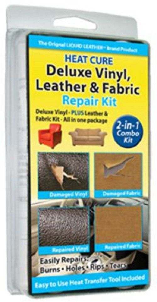 Deluxe Leather Vinyl Repair Kit With Fabric Upholstery Repair As Seen On Tv In Home Furniture Di Vinyl Repair Upholstery Repair Diy Furniture Upholstery