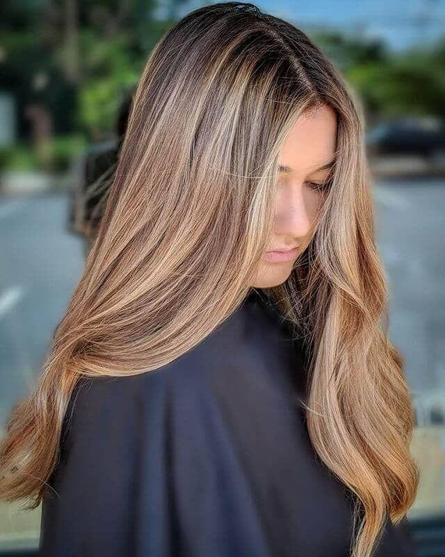 50 schmeichelnde braune Haare mit blonden Akzenten, die Ihre nächste Frisur inspirieren #brownhaircolors