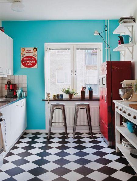 Cocina americana años 50 | Años 50 | Pinterest