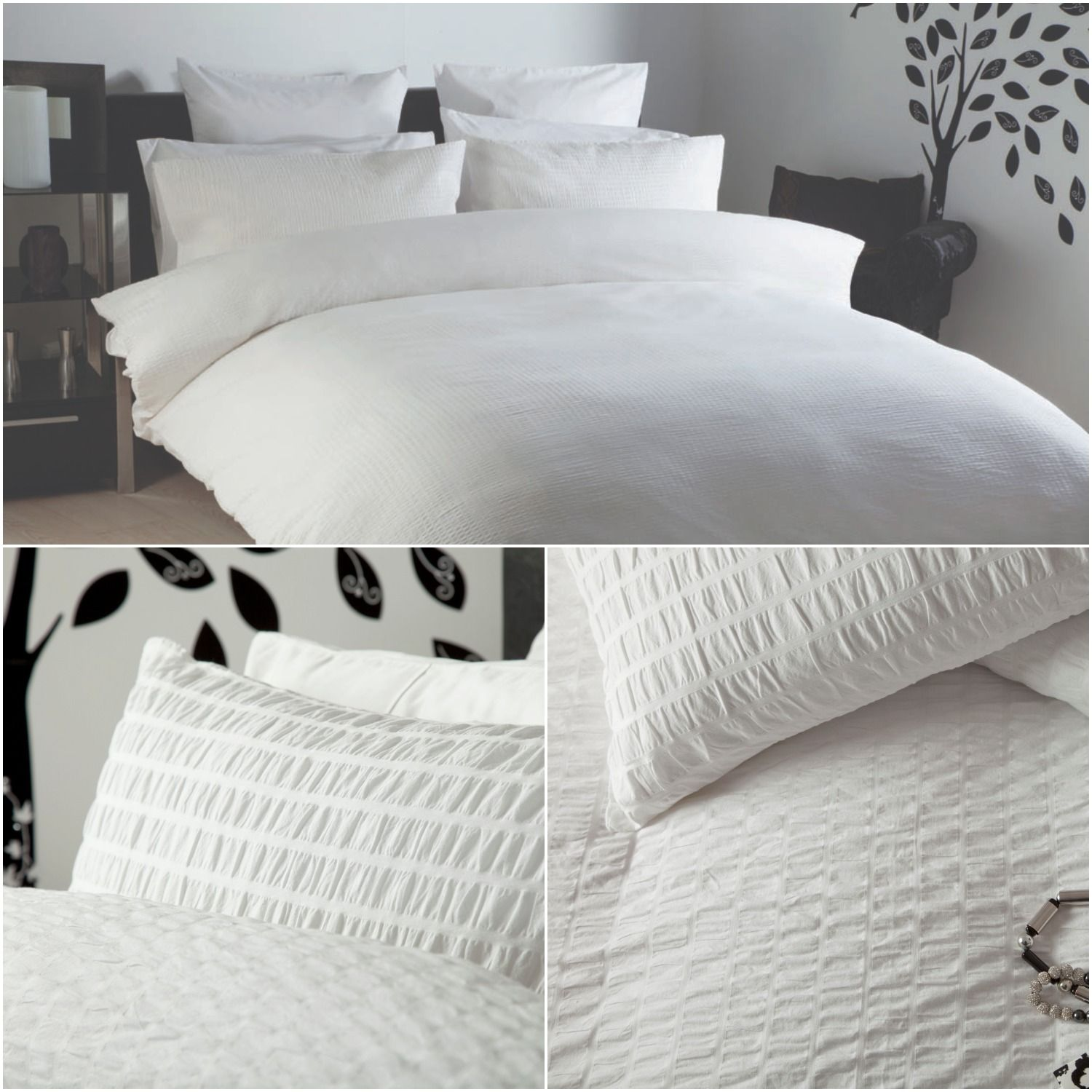 Belledorm Lincoln maison blanche Bed linens luxury