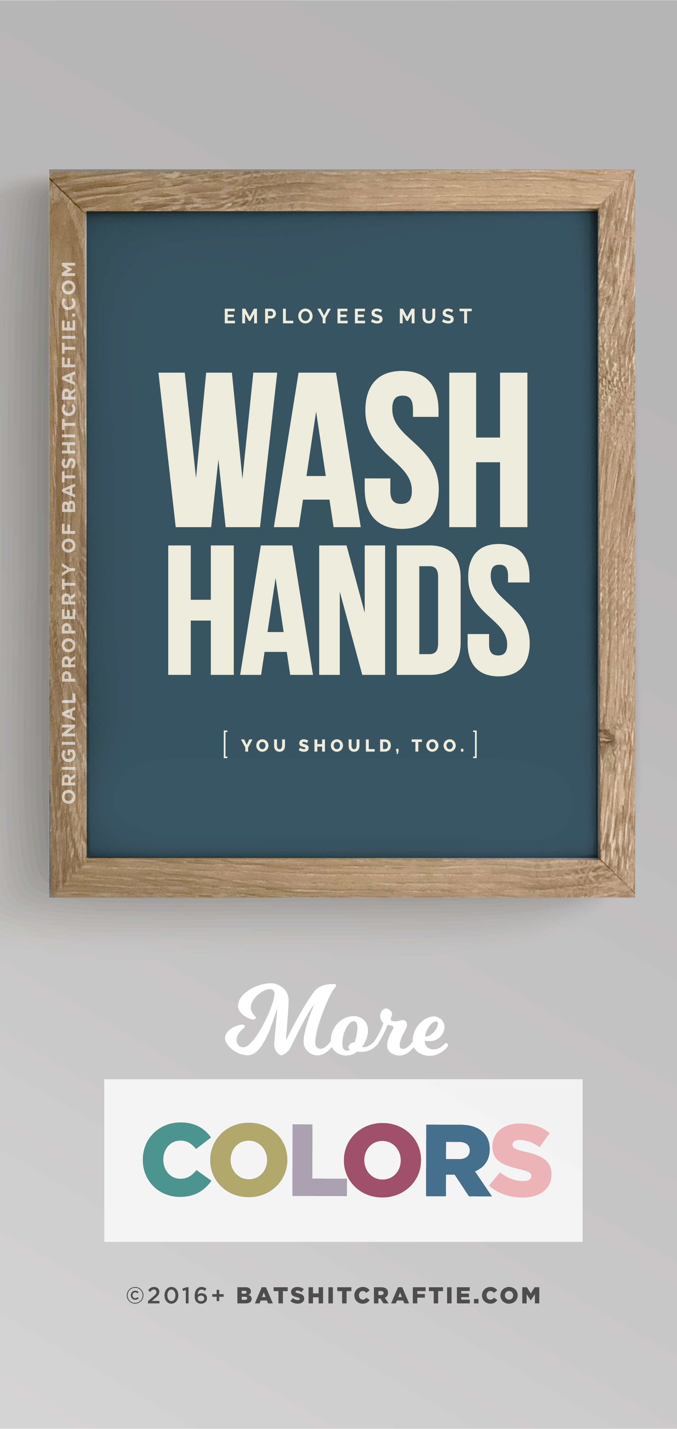 Old Fashioned Employees Must Wash Hands Sign Printable