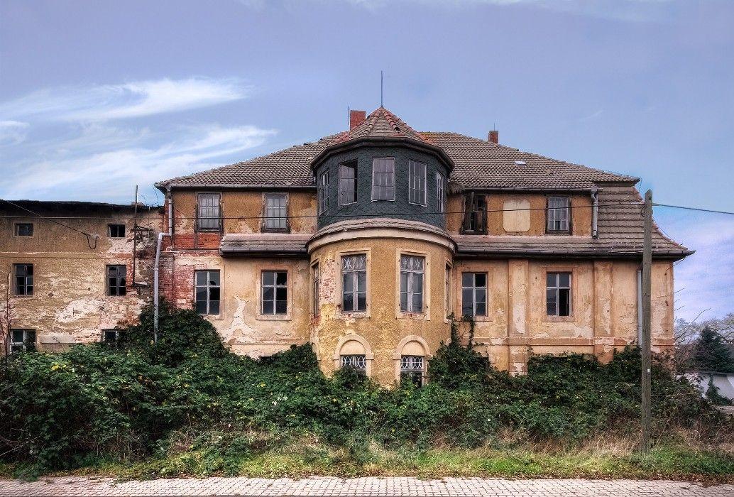 Herrenhaus in Ammelgoßwitz Herrenhaus, Haus, Anwesen