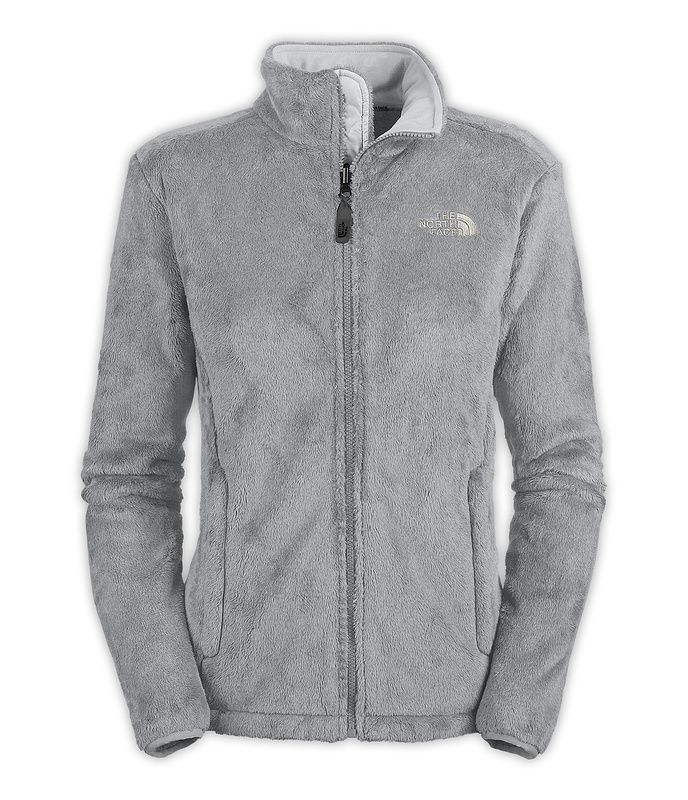 North Face Pink Ribbon Osito Gray Jacket [TNF-6821-1] - $72.99 ...