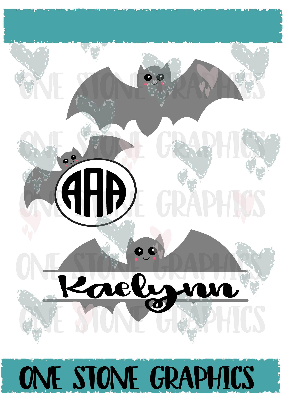 Bat Svg Eps Dxf Jpeg Bat Monogram Svg File Bat Monogram Frame Cute Bat Svg Halloween Svg Halloween Monogram Svg Monogram Svg Halloween Monogram Monogram Frame
