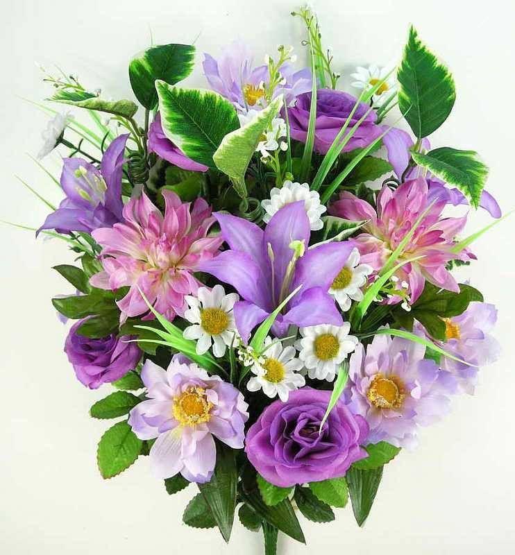 Premium Trumpet Lily Mixed Bush - Lavender