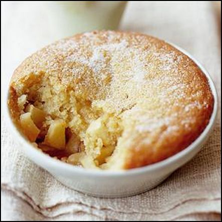 Welsh Recipes: Pwdin Eva (Eve's Pudding) https://www ...