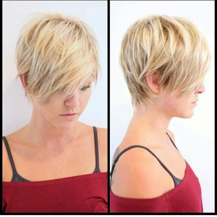 Short Hairstyles For Thin Hair Endearing Long Pixie  Beauty Full  Pinterest  Long Pixie Pixies And Short Hair