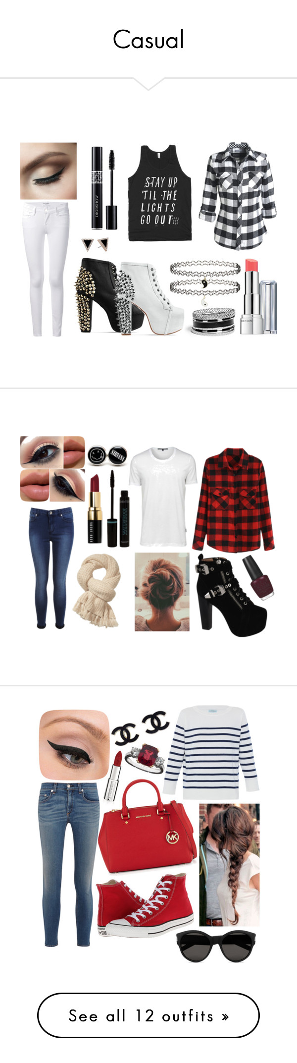 """""""Casual"""" by wikianna ❤ liked on Polyvore"""