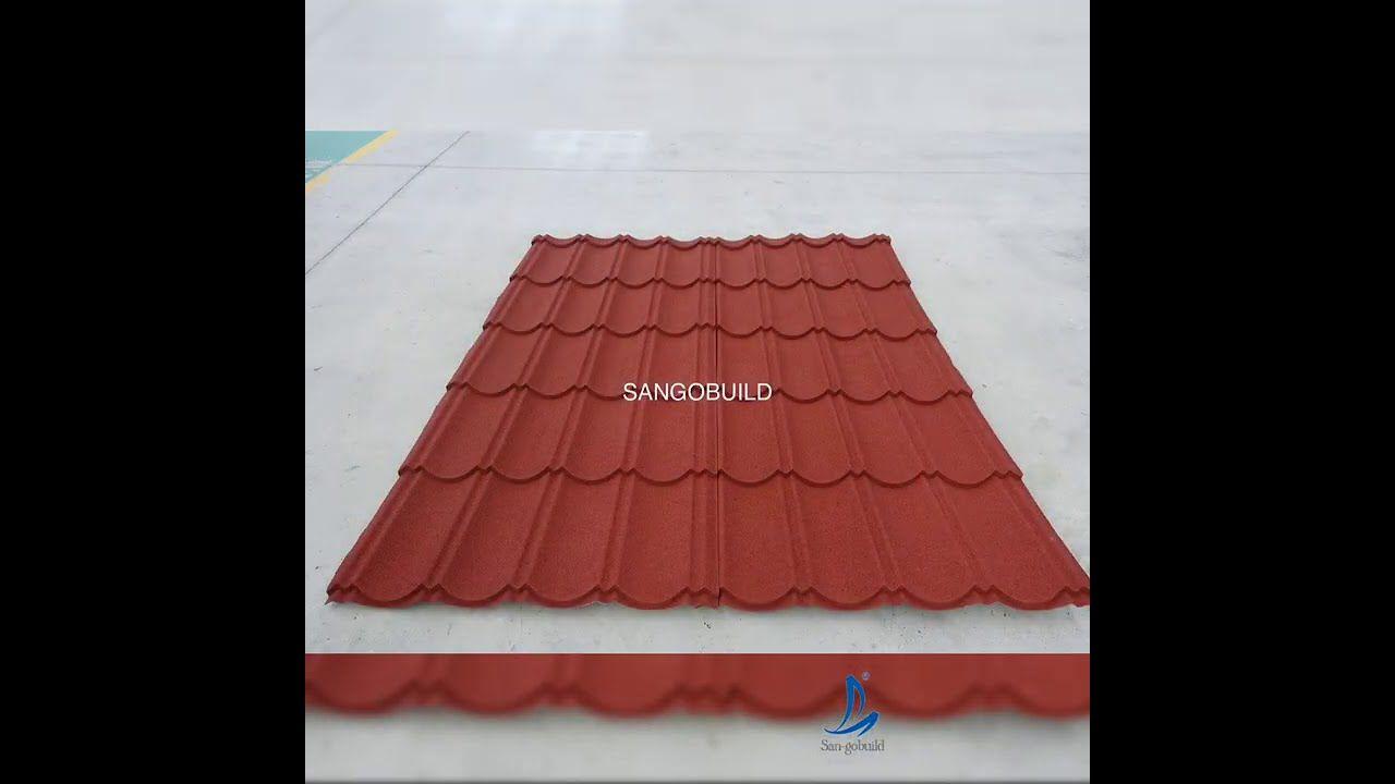 Sangobuild Long Span Stone Coated Metal Roofing Sheets Stock It Now In 2020 Metal Roof Sheet Metal Roofing Roofing Sheets